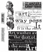 Stampers Anonymous/Tim Holtz - Cling Mount Stamp Set - Classics No. 4 – SCF004
